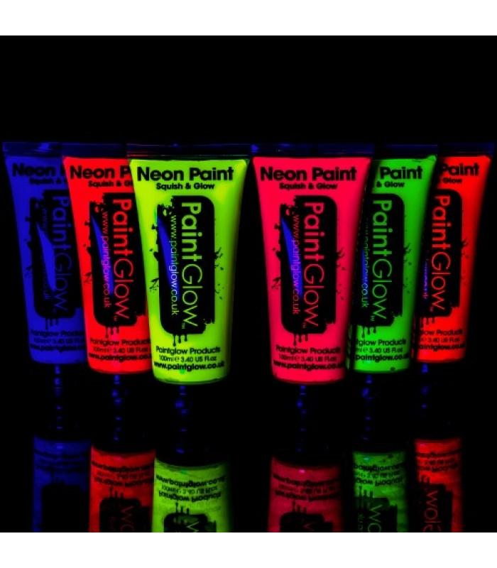 UV Helendavad näovärvid