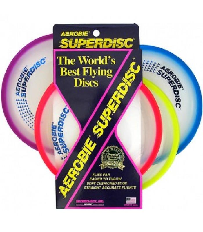 "Aerobie Superdisc frisbee lendav taldrik 10"""