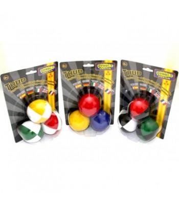 Pehmete žongleerimispallide komplekt